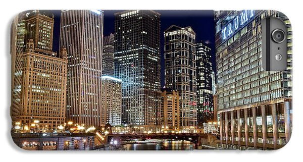 River View Of The Windy City IPhone 6 Plus Case by Frozen in Time Fine Art Photography