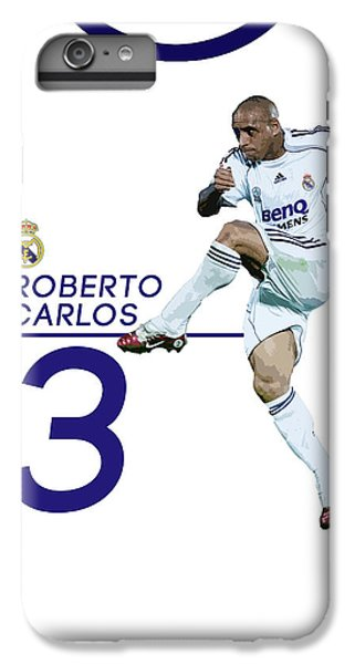 Roberto Carlos IPhone 6 Plus Case by Semih Yurdabak
