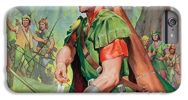 Robin Hood IPhone 6 Plus Case by James Edwin McConnell