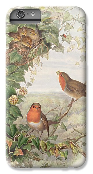 Robin IPhone 6 Plus Case by John Gould
