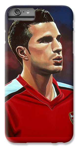 Wayne Rooney iPhone 6 Plus Case - Robin Van Persie by Paul Meijering