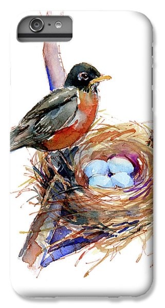 Robin With Nest IPhone 6 Plus Case