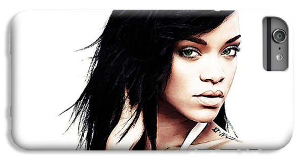 Robyn Rihanna Fenty IPhone 6 Plus Case by The DigArtisT