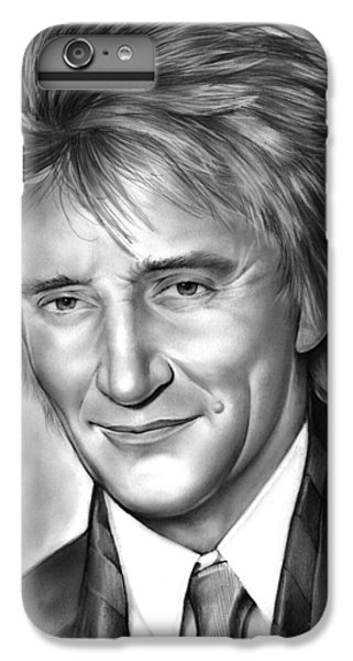 Rock And Roll iPhone 6 Plus Case - Rod Stewart by Greg Joens