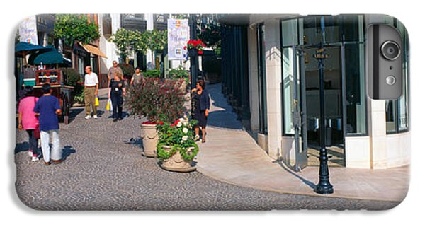 Rodeo Drive, Beverly Hills, California IPhone 6 Plus Case by Panoramic Images