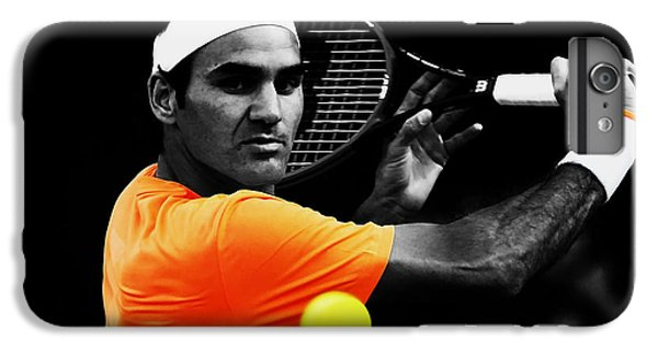 Venus Williams iPhone 6 Plus Case - Roger Federer 4c by Brian Reaves