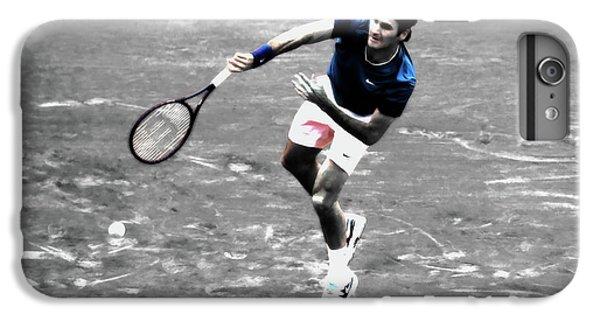 Venus Williams iPhone 6 Plus Case - Roger Federer 4v by Brian Reaves