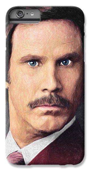 Elf iPhone 6 Plus Case - Ron Burgundy by Zapista