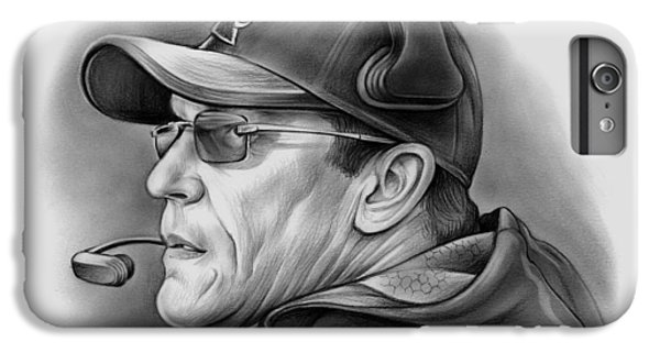 Ron Rivera IPhone 6 Plus Case by Greg Joens