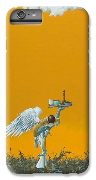 Frogs iPhone 6 Plus Case - Rope Ladder by Jasper Oostland