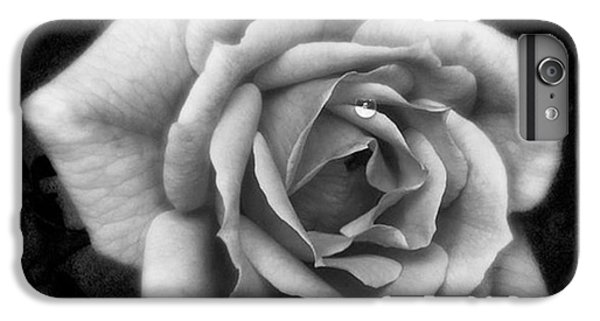 Rose In Mono. #flower #flowers IPhone 6 Plus Case