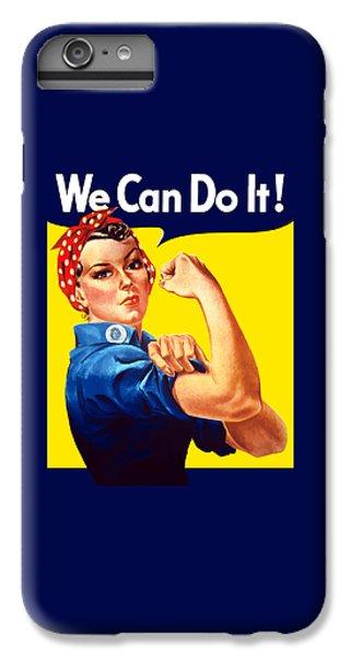 American Landmarks iPhone 6 Plus Case - Rosie The Rivetor by War Is Hell Store