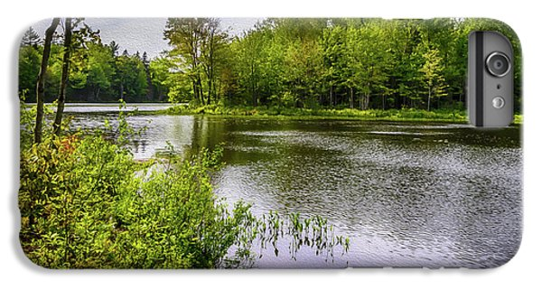 IPhone 6 Plus Case featuring the photograph Round The Bend In Oil 36 by Mark Myhaver