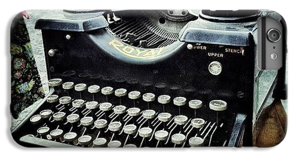 Bestoftheday iPhone 6 Plus Case - Royal Typewriter by Natasha Marco