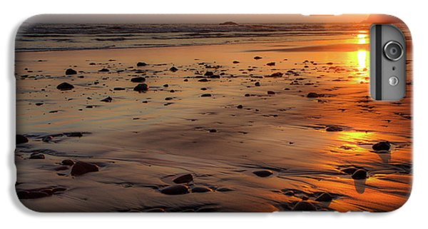 Ruby Beach Sunset IPhone 6 Plus Case by David Chandler