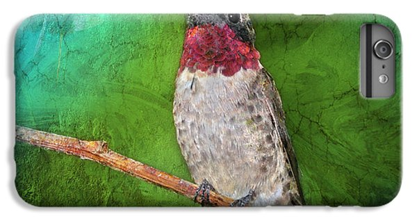 Ruby Throated Hummingbird IPhone 6 Plus Case by Betty LaRue