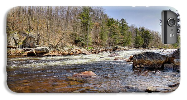 IPhone 6 Plus Case featuring the photograph Rushing Waters Of The Moose River by David Patterson