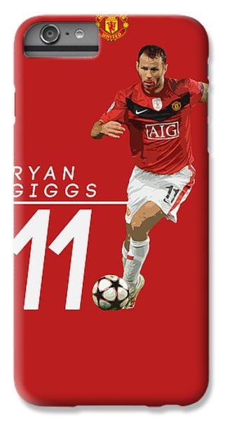 Wayne Rooney iPhone 6 Plus Case - Ryan Giggs by Semih Yurdabak