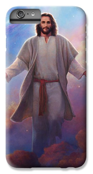 Christ iPhone 6 Plus Case - Sacred Space by Greg Olsen