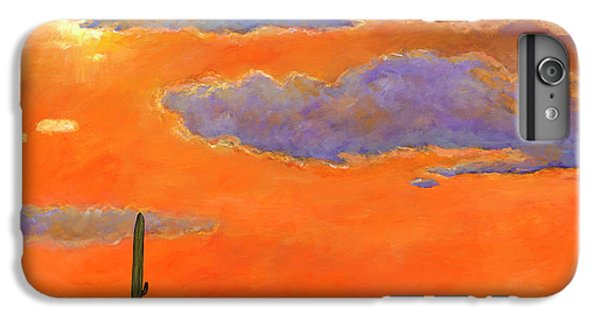 Desert iPhone 6 Plus Case - Saguaro Sunset by Johnathan Harris