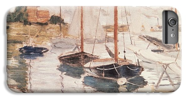 Sailboats On The Seine IPhone 6 Plus Case