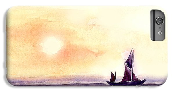 Sailing IPhone 6 Plus Case by Anil Nene