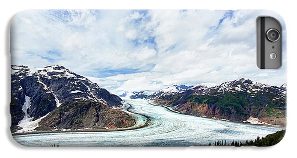 Salmon Glacier IPhone 6 Plus Case by Heidi Brand