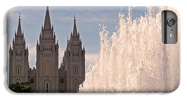 Salt Lake Temple And Fountain IPhone 6 Plus Case
