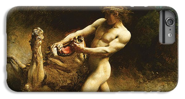 Samson's Youth IPhone 6 Plus Case by Leon Joseph Florentin Bonnat