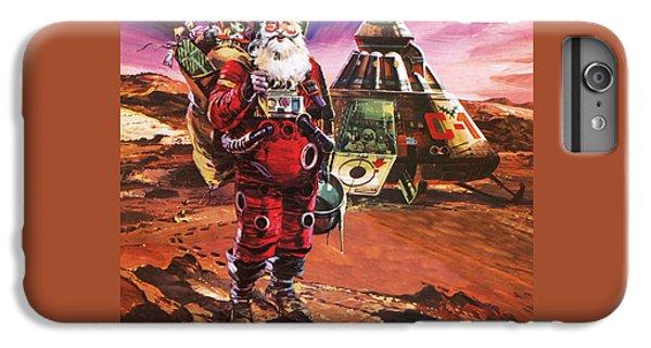 Santa Claus On Mars IPhone 6 Plus Case by English School