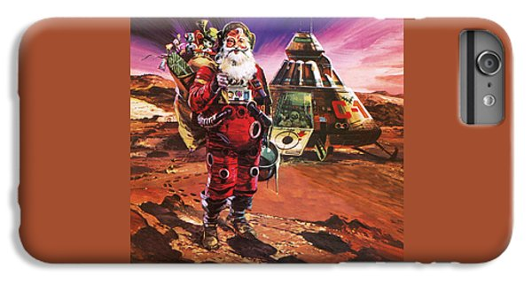 Santa Claus On Mars IPhone 6 Plus Case by English School