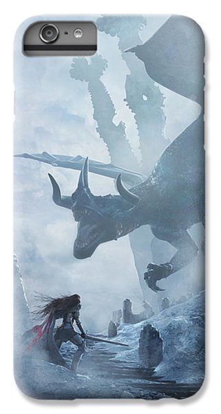 Santa Georgina Vs The Dragon IPhone 6 Plus Case