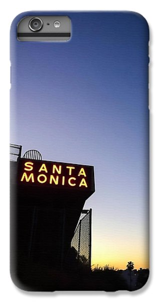 Santa Monica Sunrise IPhone 6 Plus Case