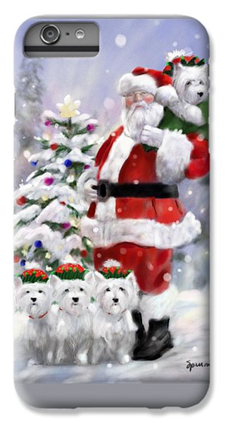 Elf iPhone 6 Plus Case - Santa's Helpers by Mary Sparrow