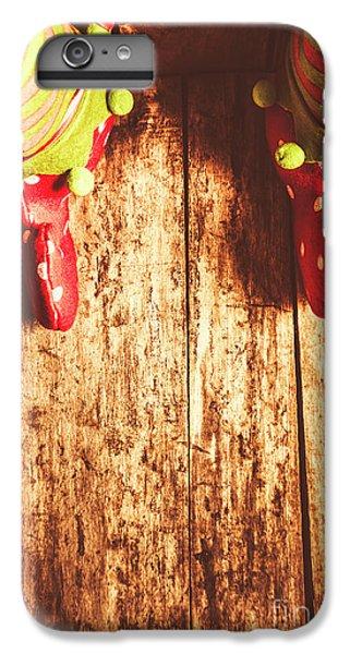 Elf iPhone 6 Plus Case - Santas Little Helper by Jorgo Photography - Wall Art Gallery