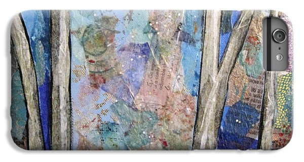 Barren iPhone 6 Plus Case - Sapphire Forest II by Shadia Derbyshire