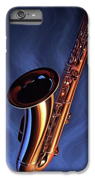 Saxophone iPhone 6 Plus Case - Sax Appeal by Jerry LoFaro