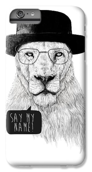 Lion iPhone 6 Plus Case - Say My Name by Balazs Solti