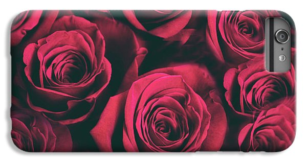 IPhone 6 Plus Case featuring the photograph Scarlet Roses by Jessica Jenney