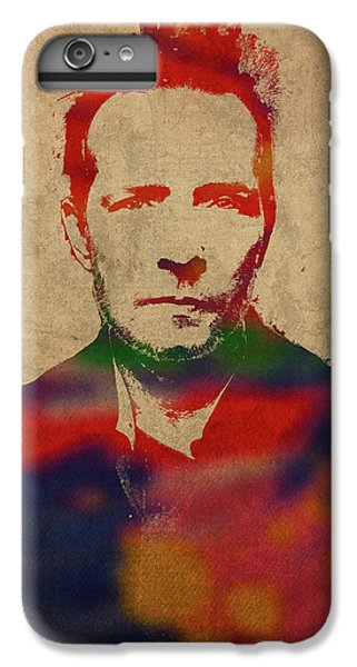 Scott Weiland Stone Temple Pilots Watercolor Portrait IPhone 6 Plus Case