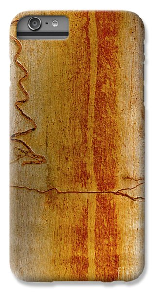 IPhone 6 Plus Case featuring the photograph Scribbly Gum Bark by Werner Padarin