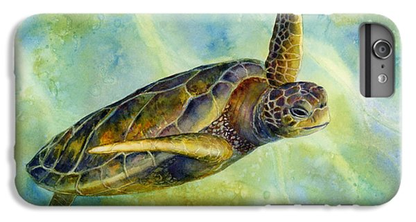 Wildlife iPhone 6 Plus Case - Sea Turtle 2 by Hailey E Herrera