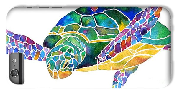 Sea Turtle Celebration 4 Prints Only IPhone 6 Plus Case