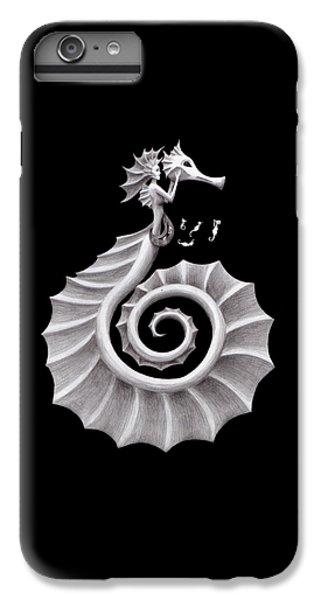 Seahorse Siren IPhone 6 Plus Case by Sarah Krafft