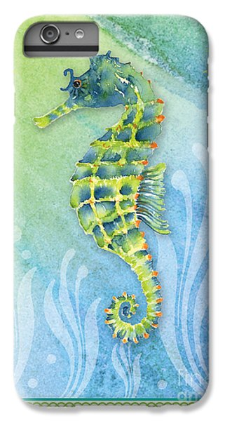Seahorse Blue Green IPhone 6 Plus Case