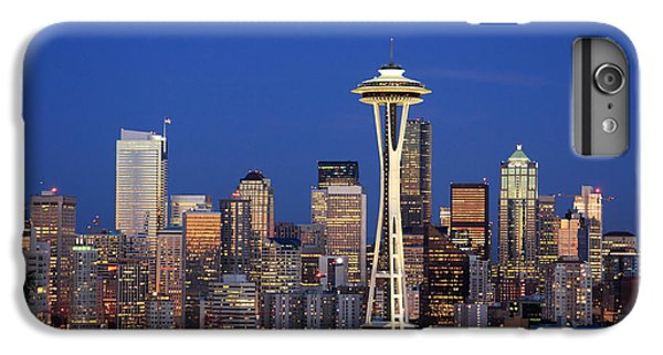 Seattle At Dusk IPhone 6 Plus Case by Adam Romanowicz