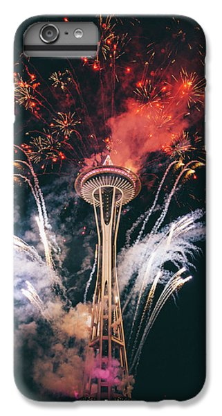 Seattle IPhone 6 Plus Case by Happy Home Artistry