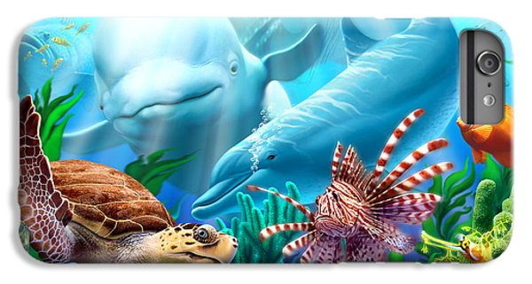 Wildlife iPhone 6 Plus Case - Seavilians 1 by Jerry LoFaro