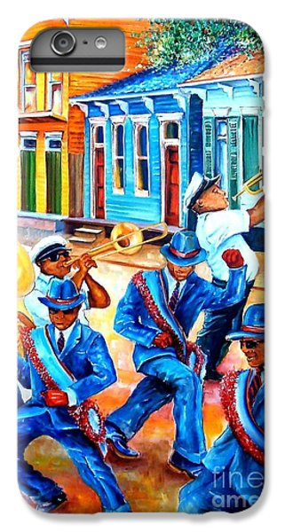 Trombone iPhone 6 Plus Case - Second Line In Treme by Diane Millsap