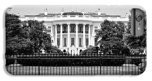 Whitehouse iPhone 6 Plus Case - security fencing outside the southern facade of the white house Washington DC USA by Joe Fox